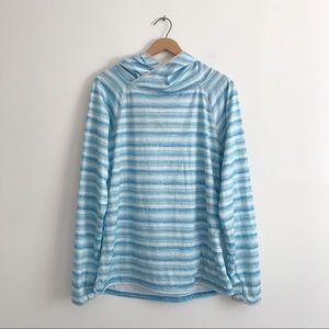 Patagonia sunshade striped lightweight hoody
